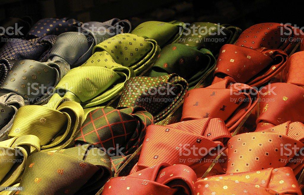ties royalty-free stock photo
