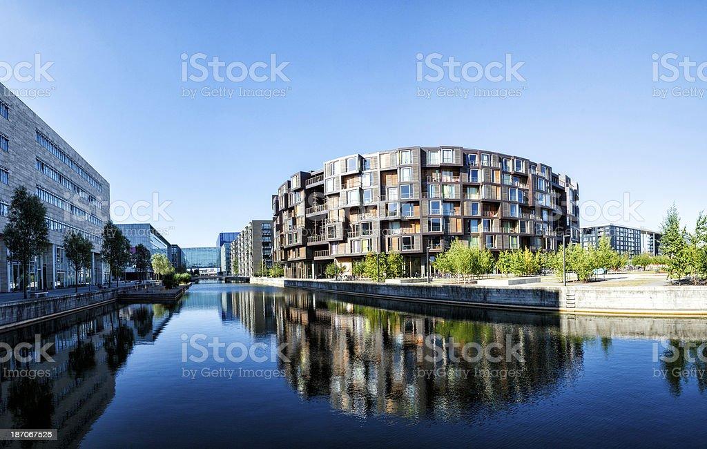 Tietgenkollegiet and the IT University in Copenhagen stock photo