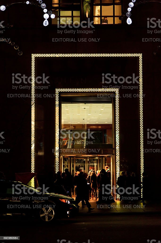 Tiffany & Co. stock photo