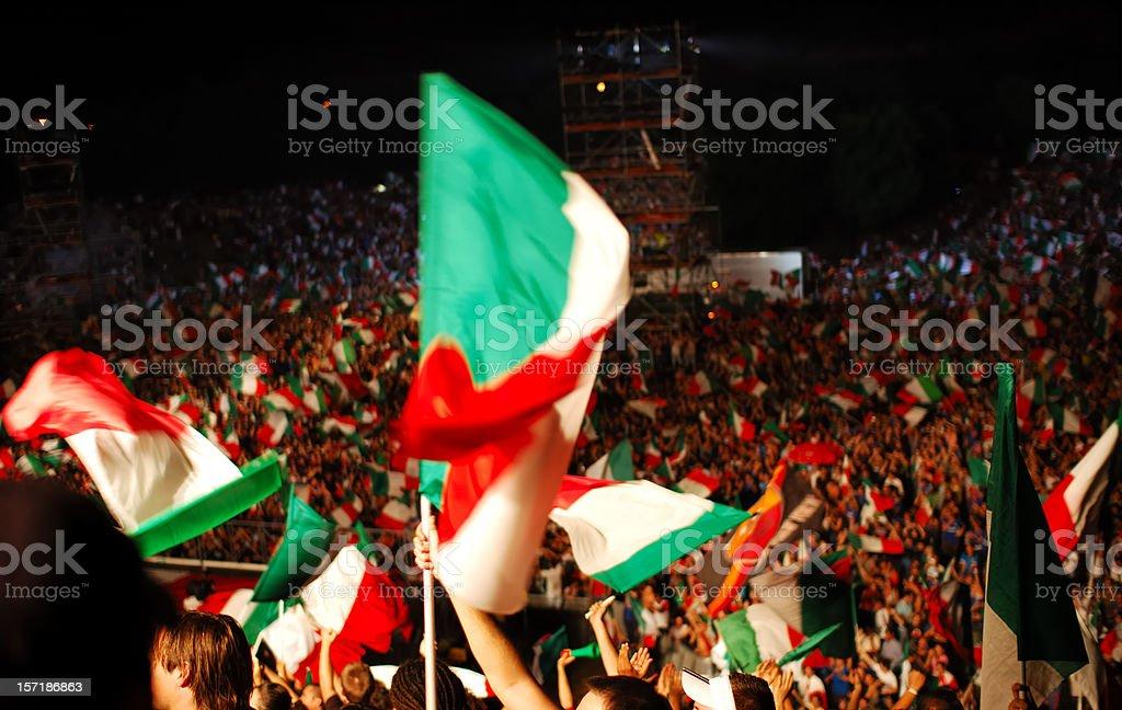 Tifosi stock photo