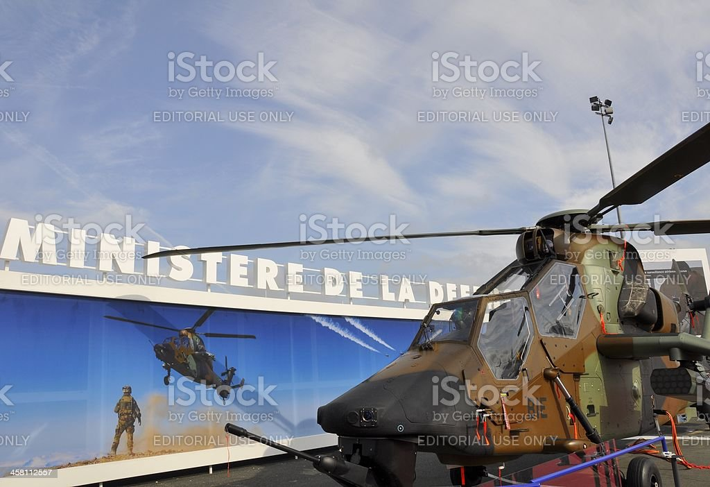Tiger Attack Helicopter royalty-free stock photo