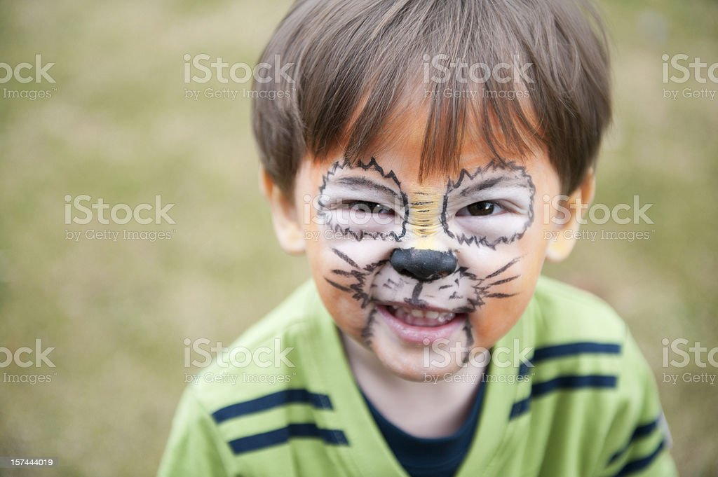 Tiger Boy royalty-free stock photo