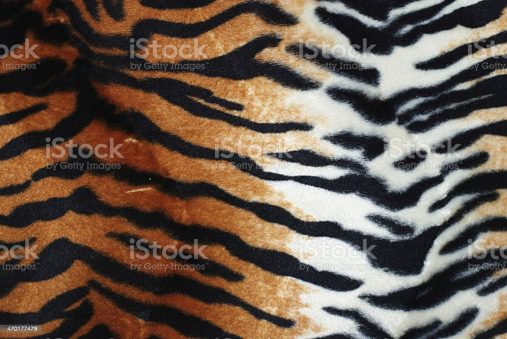 tiger fur stock photo