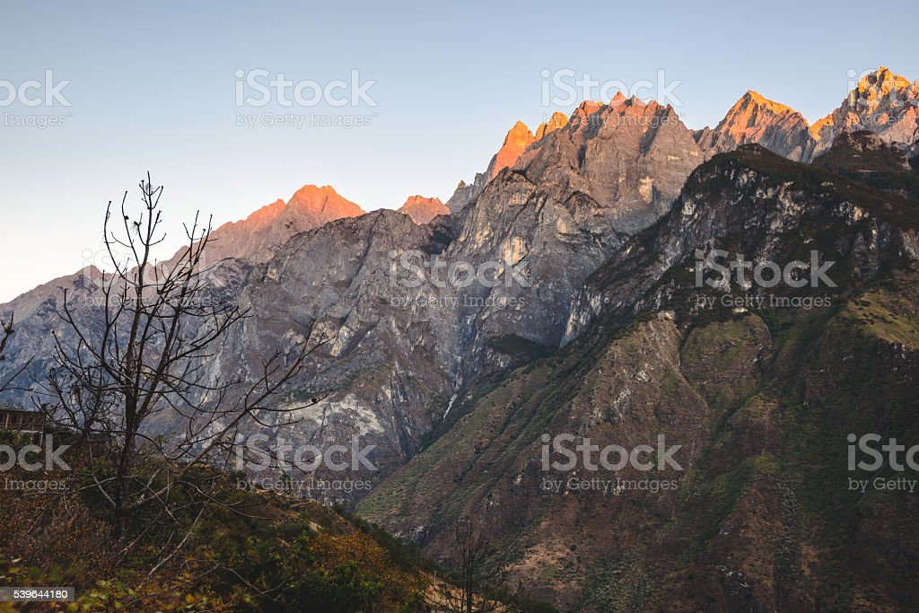 Tiger Leaping Gorge, China stock photo