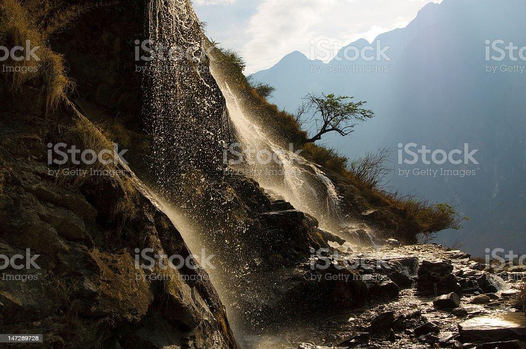 tiger leaping gorge, yunnan, china royalty-free stock photo