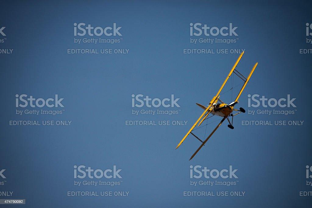 Tiger Moth stock photo