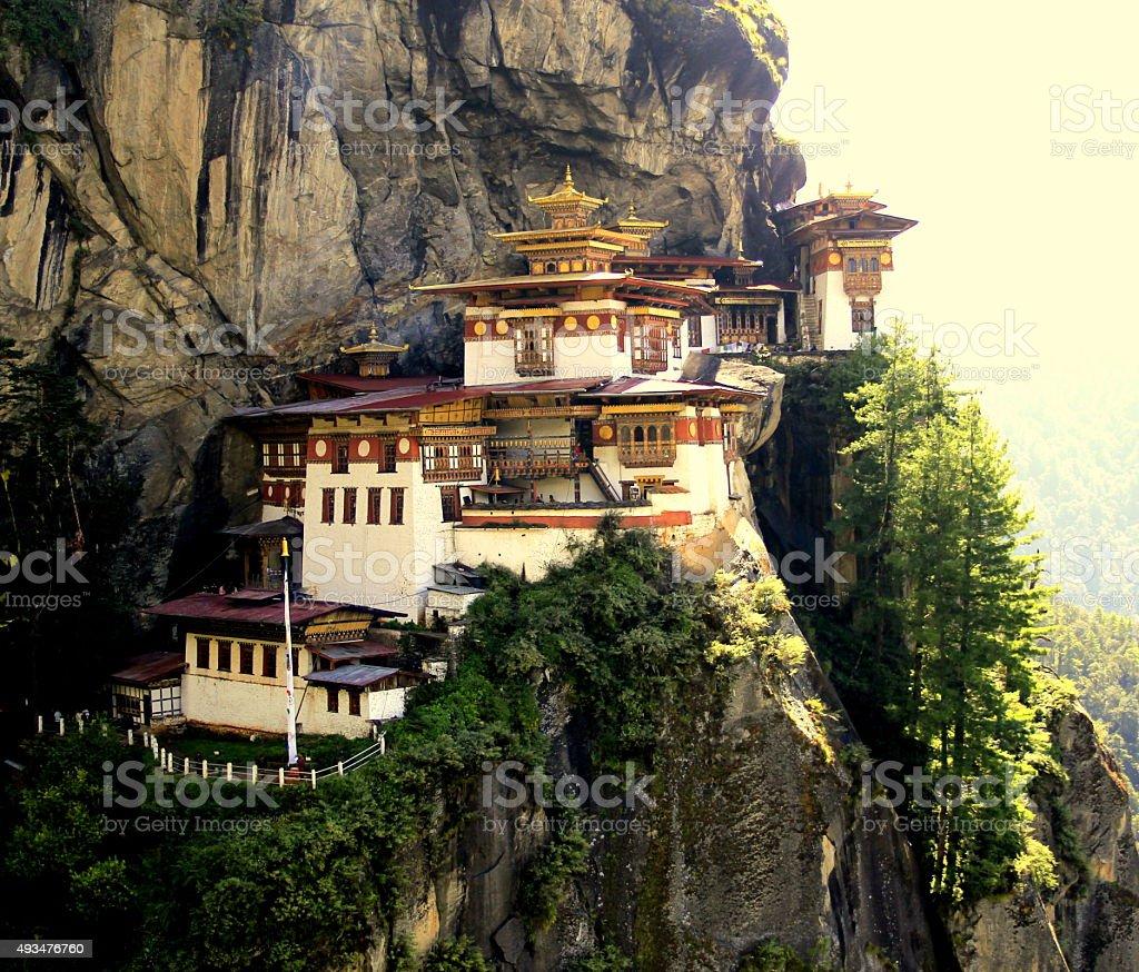Tiger Nest Monastery Bhutan stock photo