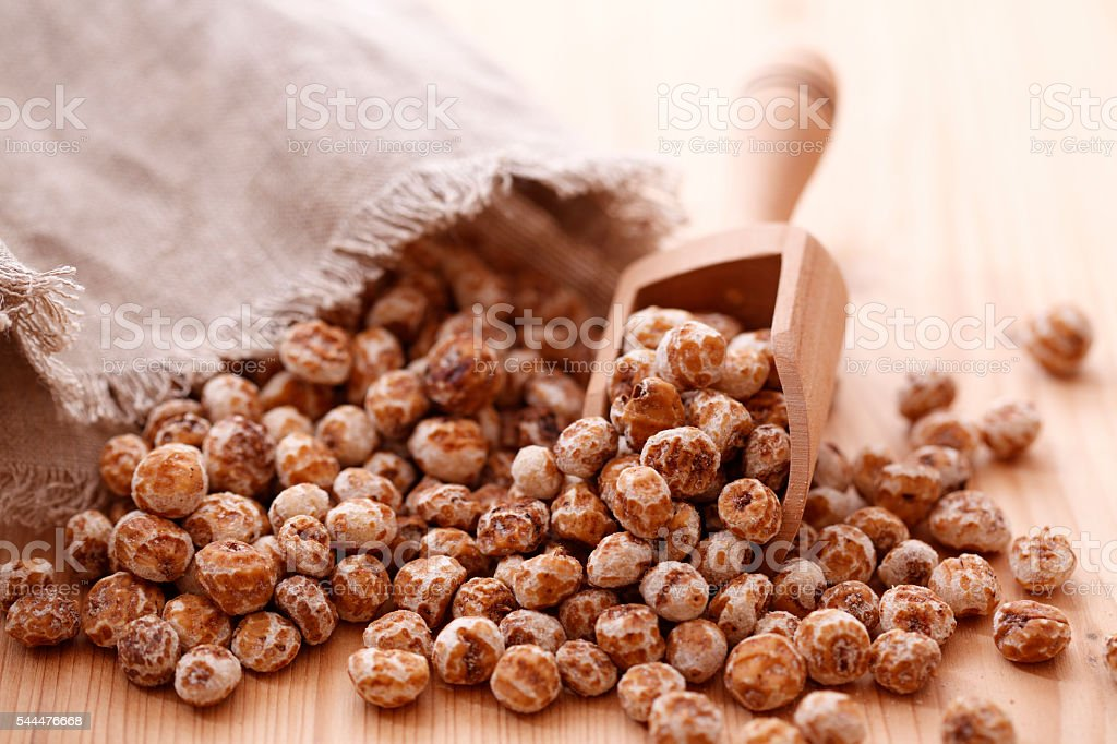 Tiger nuts stock photo