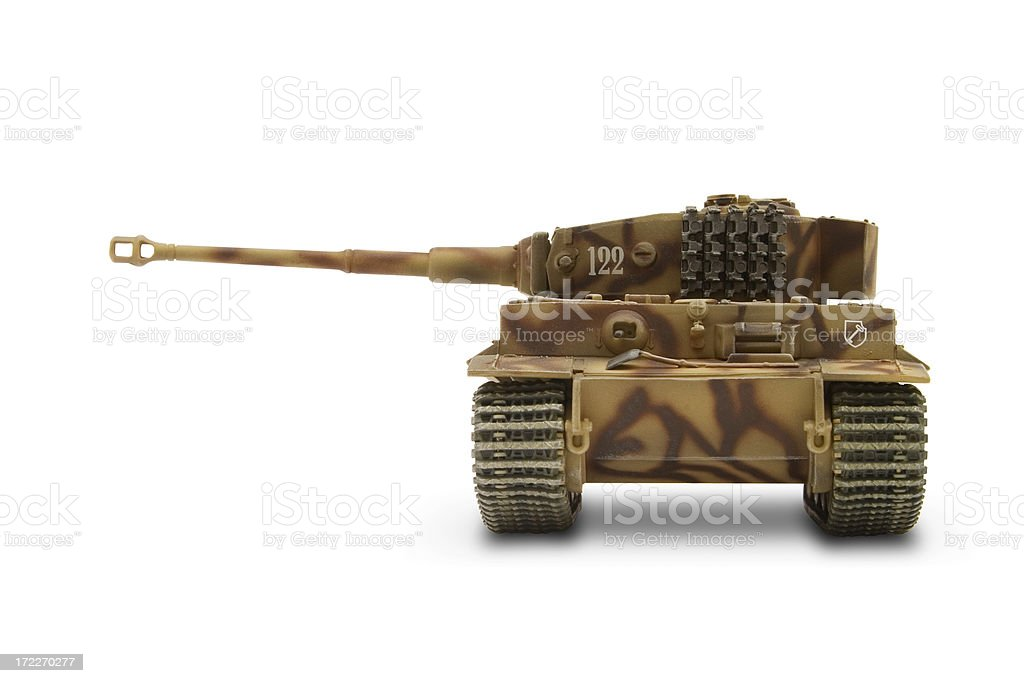 Tiger Tank 04 royalty-free stock photo