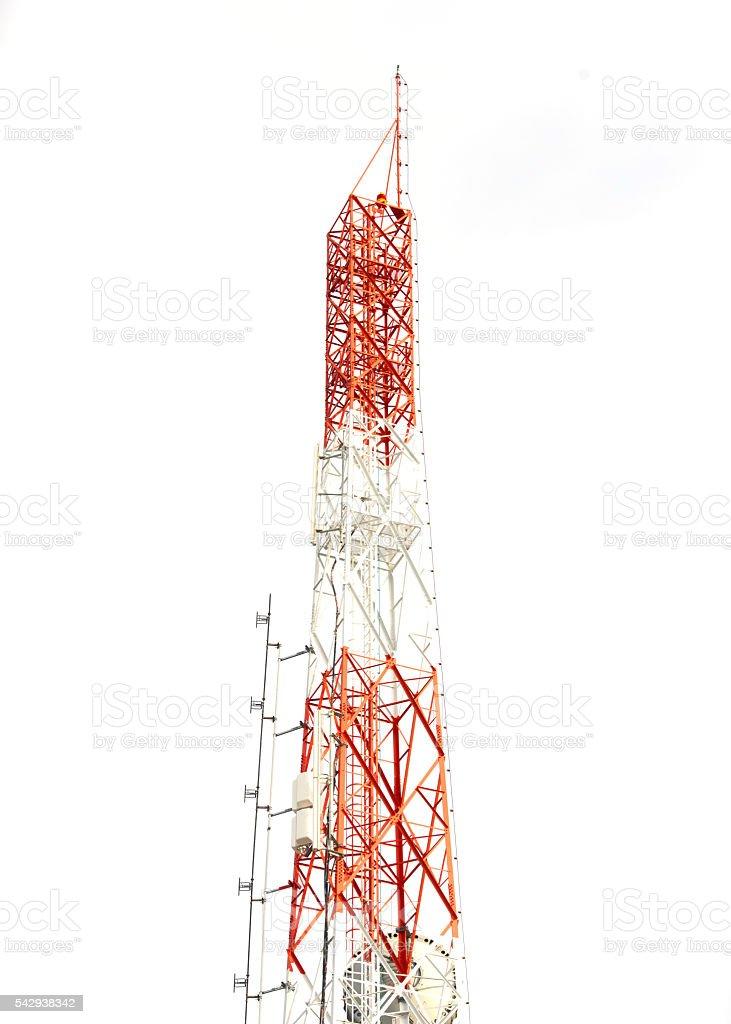 Tigers modern science antenna stock photo