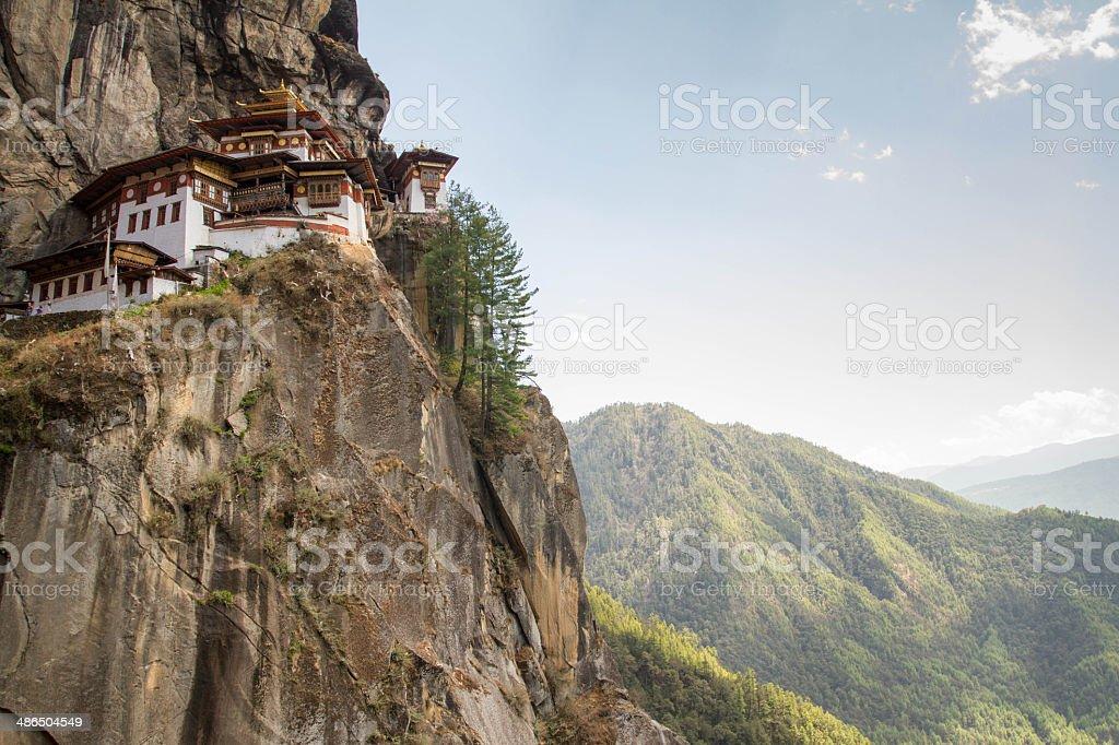 Tiger's Nest Bhutan stock photo