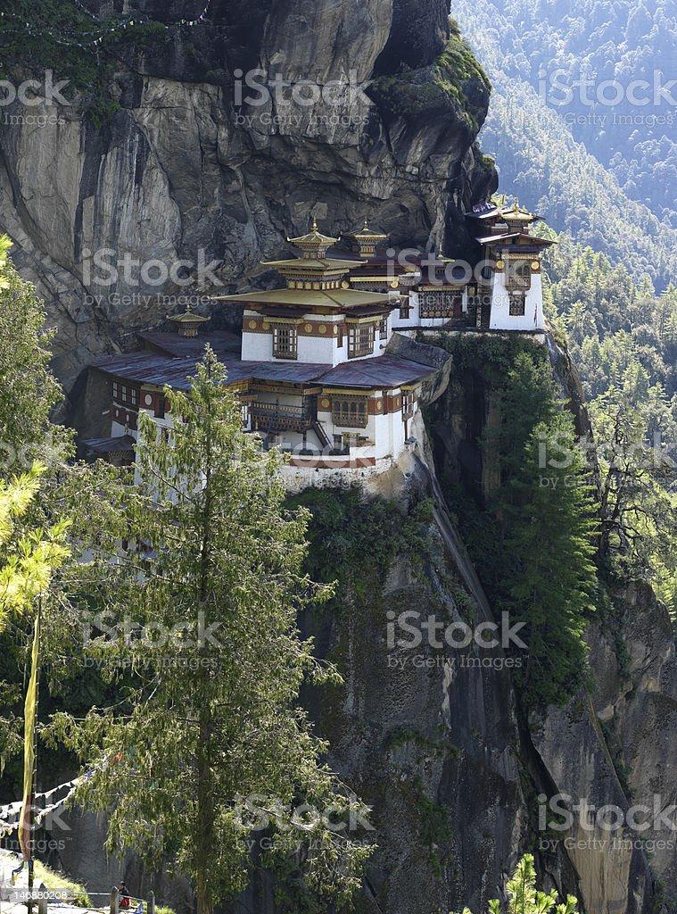 Tiger's Nest Monastery royalty-free stock photo