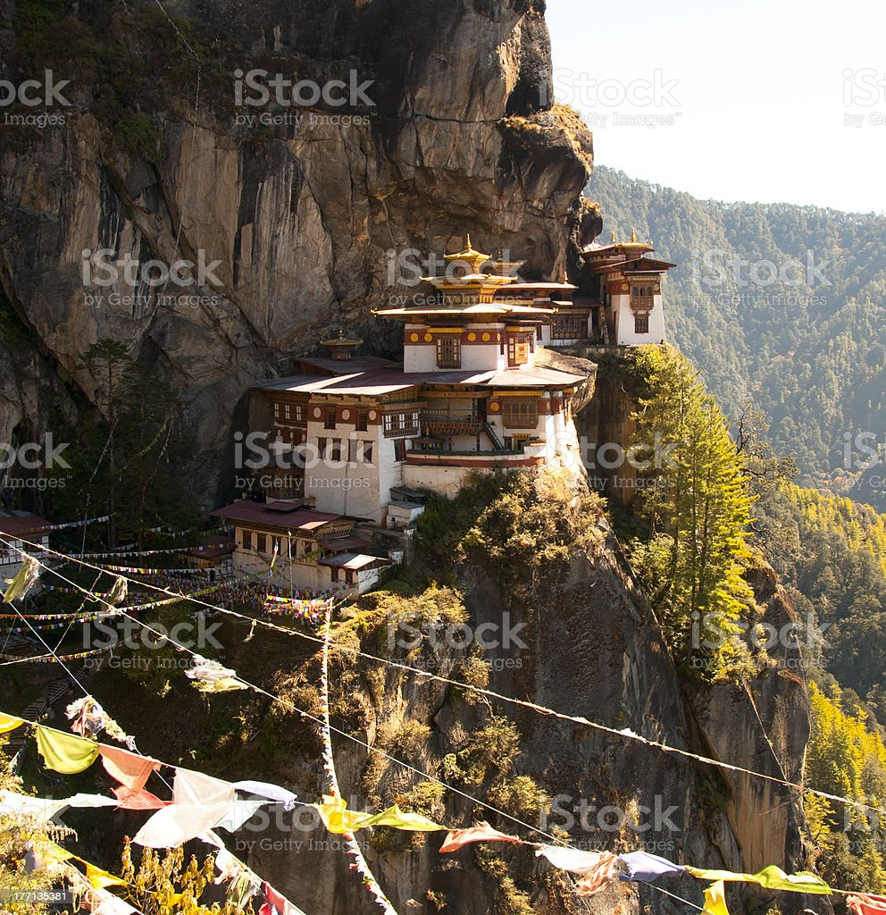 Tiger's Nest royalty-free stock photo