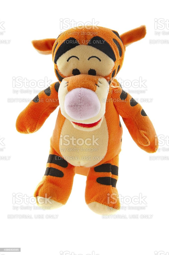 Tigger from Winnie-the-Pooh Books stock photo