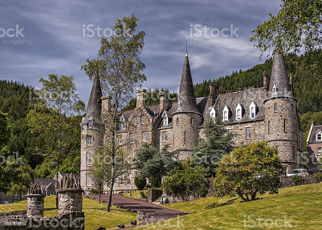 Tigh Mor Trossachs stock photo