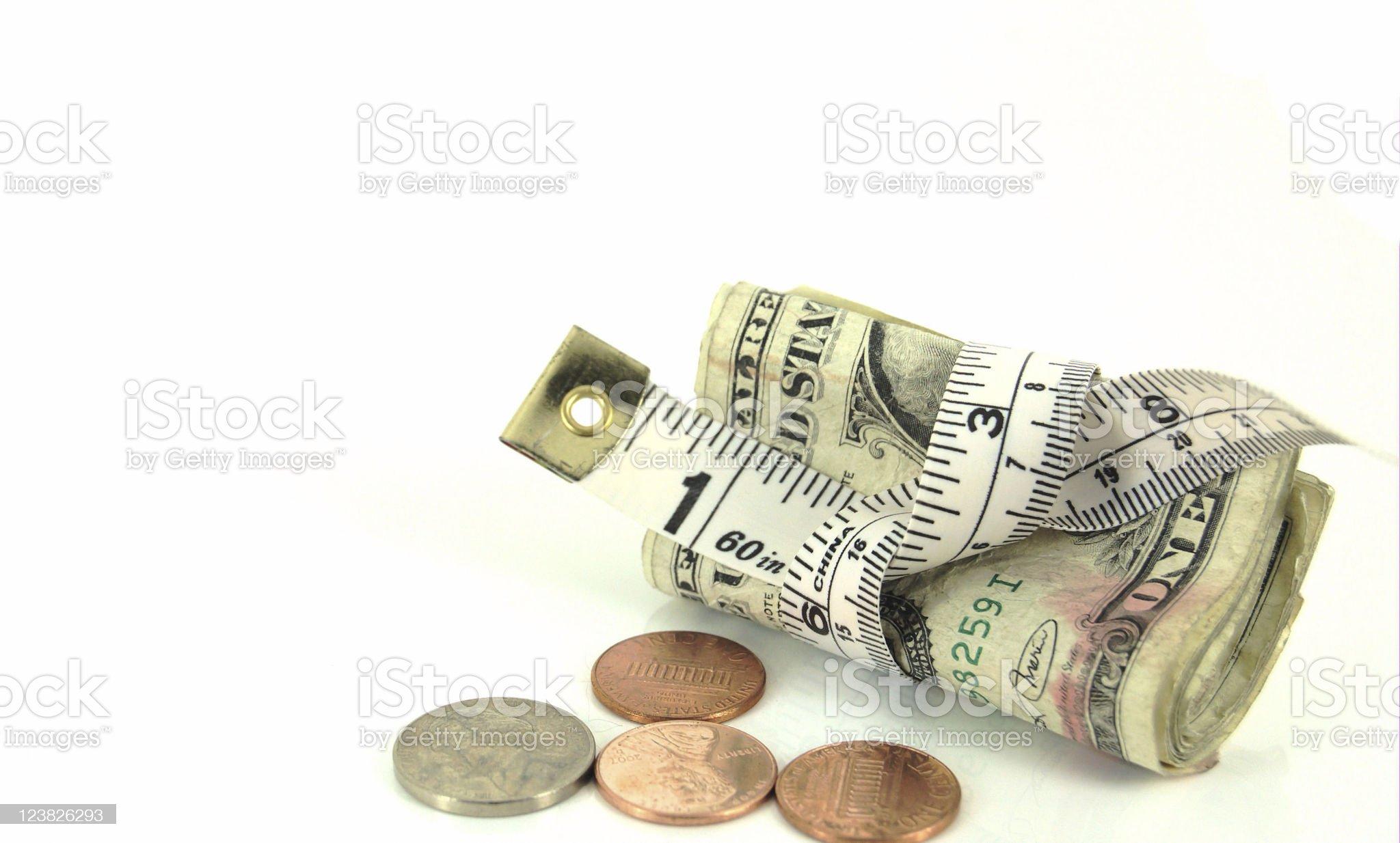 Tight Economy royalty-free stock photo