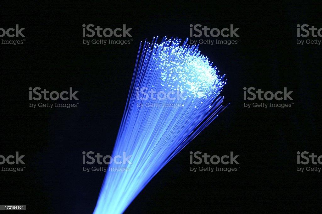 Tight Fiber Optics royalty-free stock photo