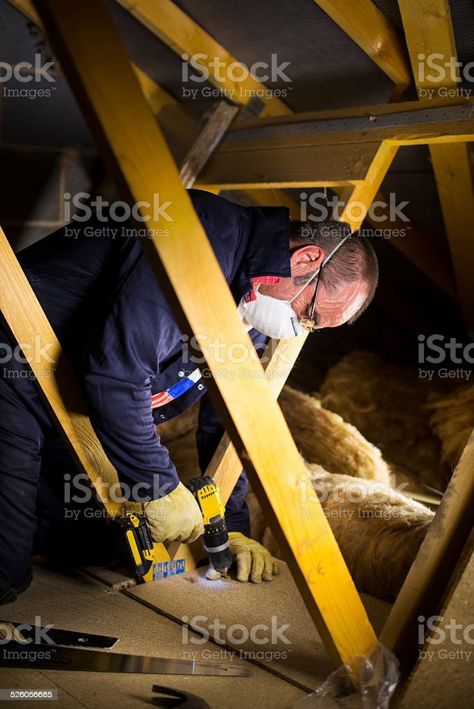 tight space stock photo