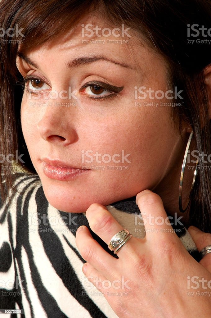 Tigress Eyes royalty-free stock photo