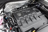 VW Tiguan TDI engine bay