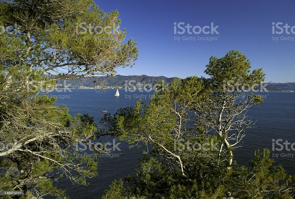 Tigullio Gulf stock photo