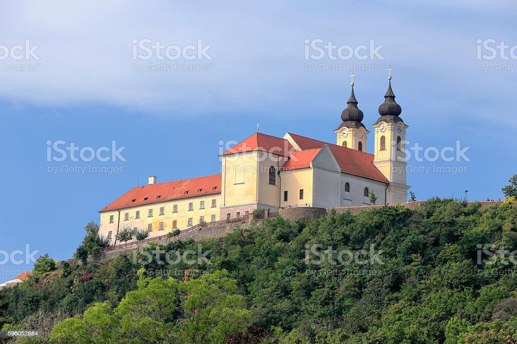 Tihany Peninsula in Hungary stock photo