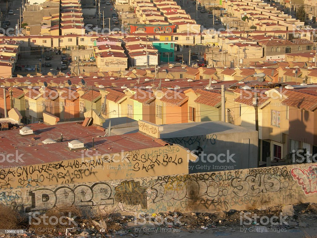 Tijuana Barrio royalty-free stock photo