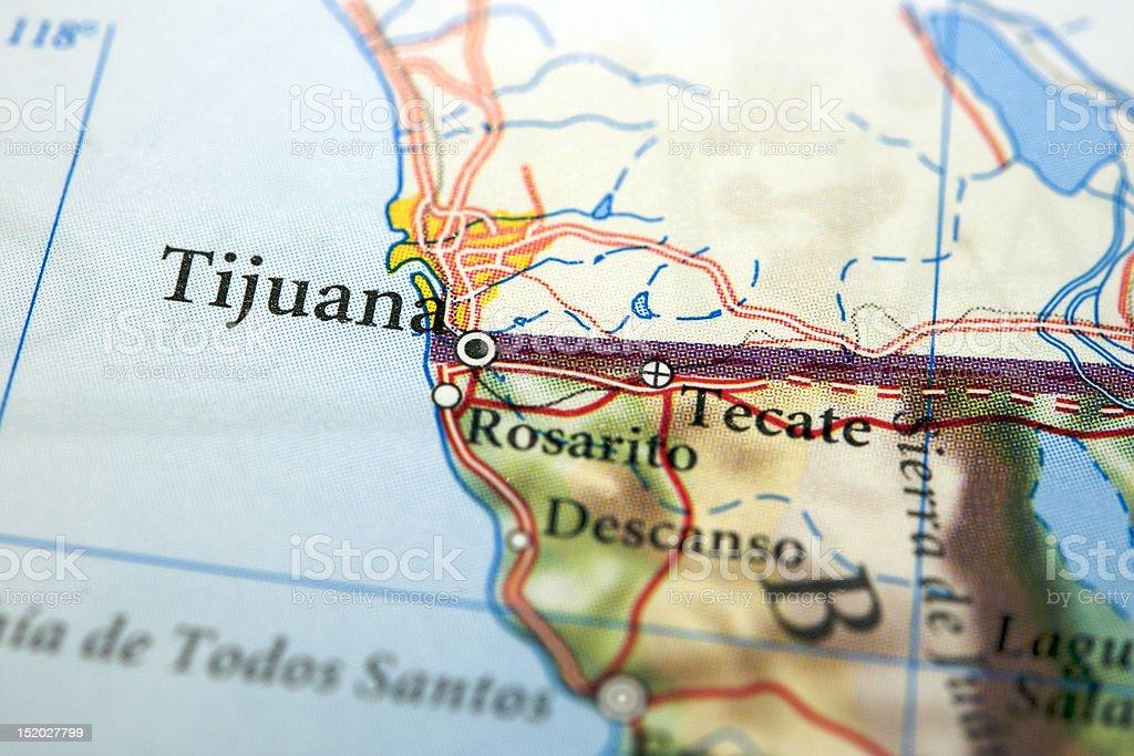 Tijuana royalty-free stock photo