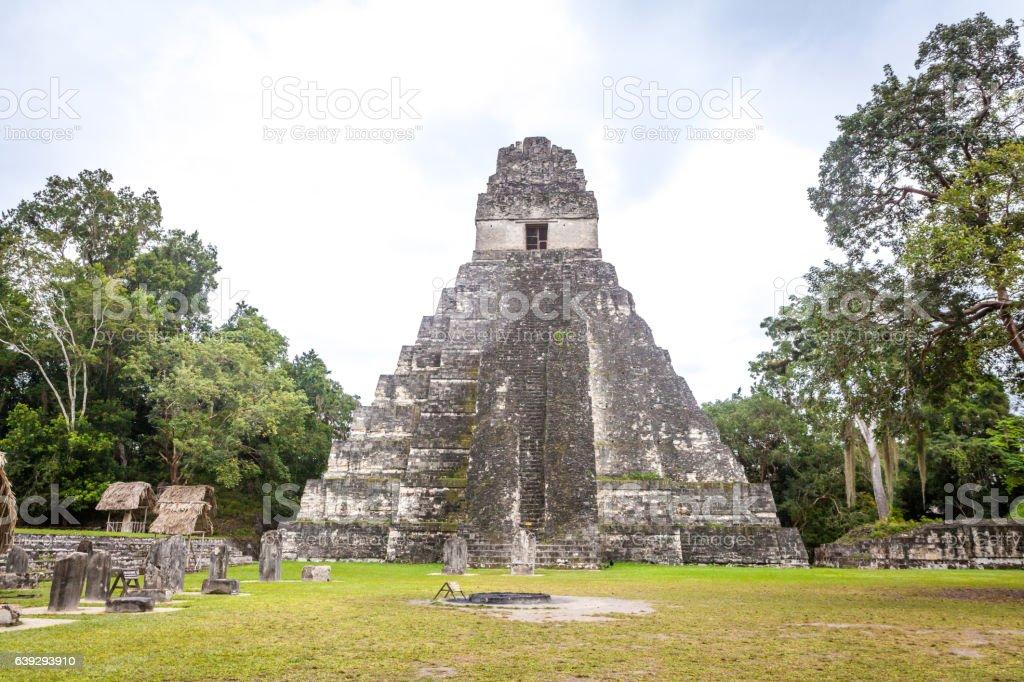 Tikal, Guatemala stock photo