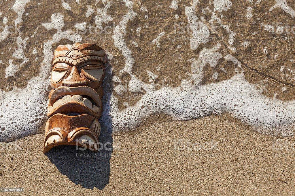 Tiki-Maske Lizenzfreies stock-foto