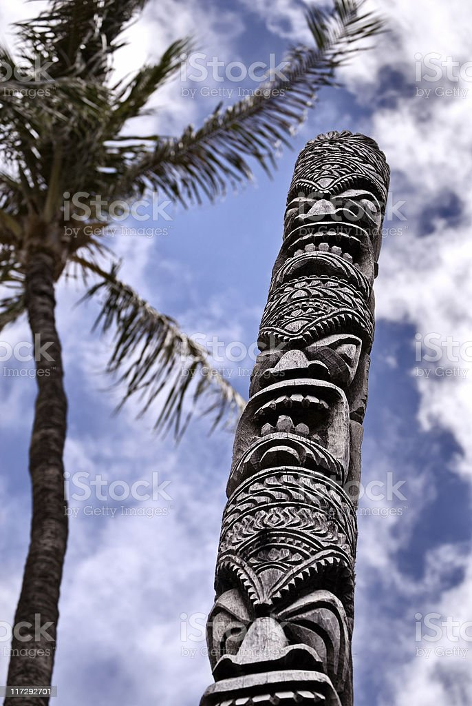 Tiki stock photo