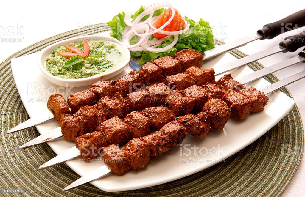 Tikka Boti-7 stock photo