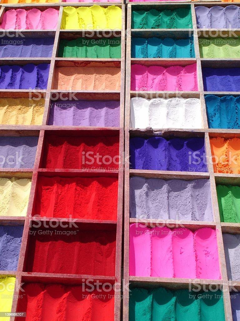 Tikka Powder, Nepal stock photo