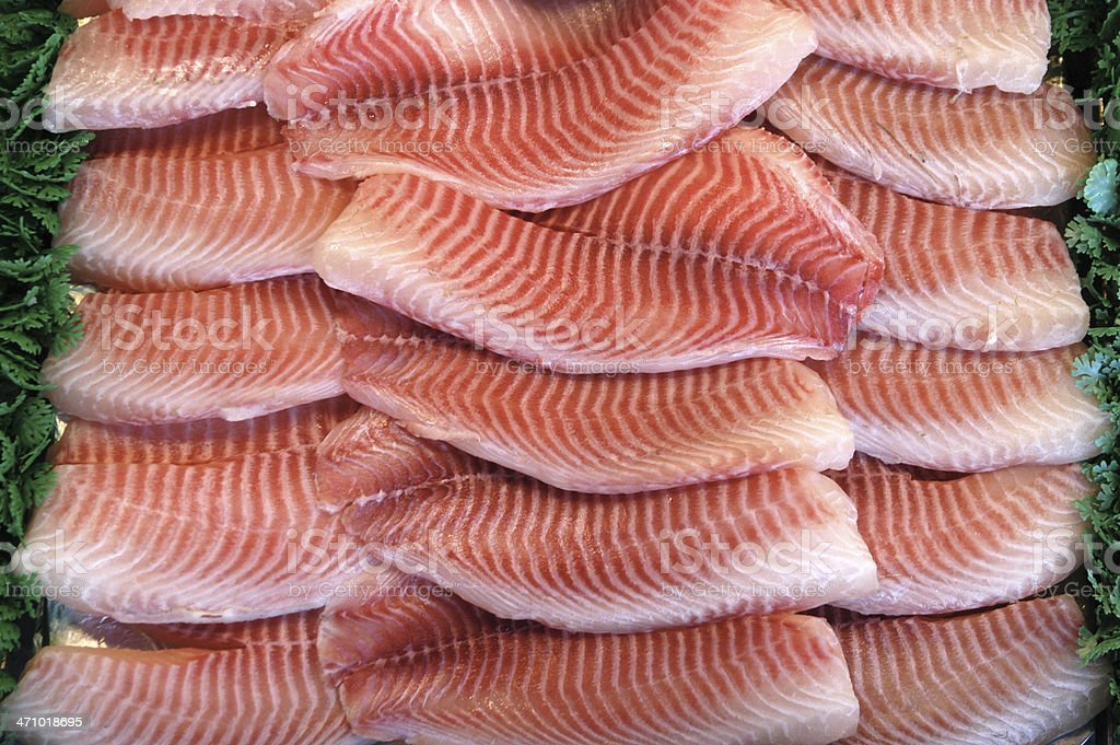 Tilapia Fillets royalty-free stock photo
