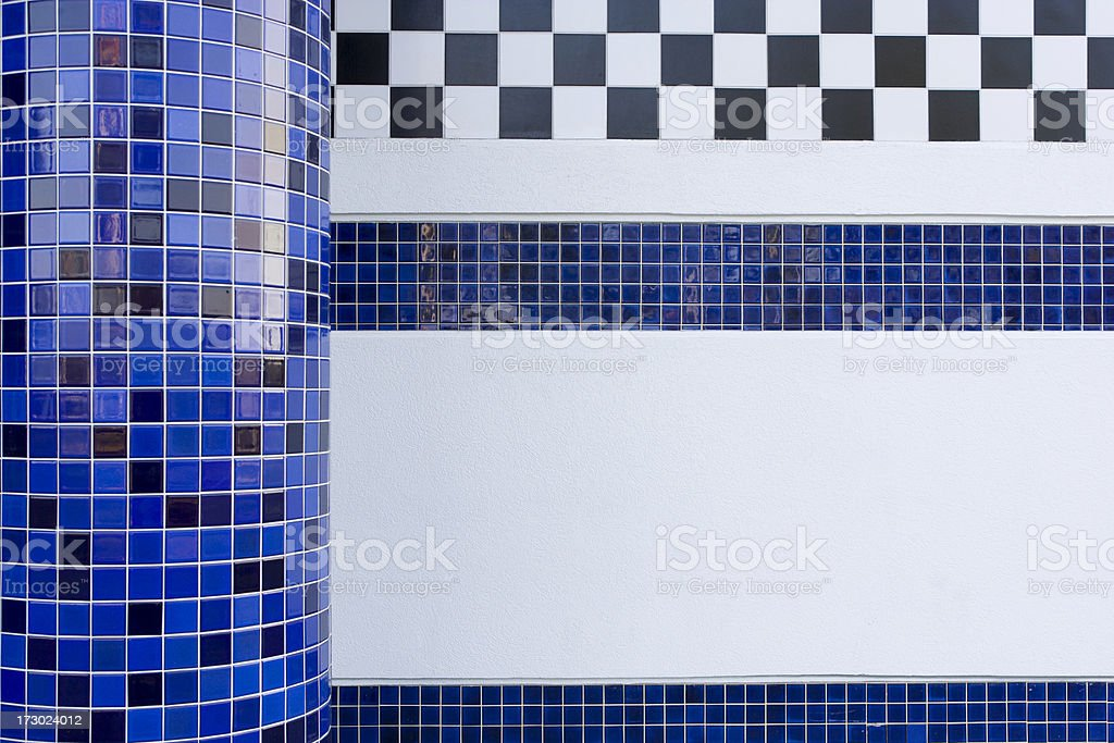 Tile abstract at mall entrance royalty-free stock photo
