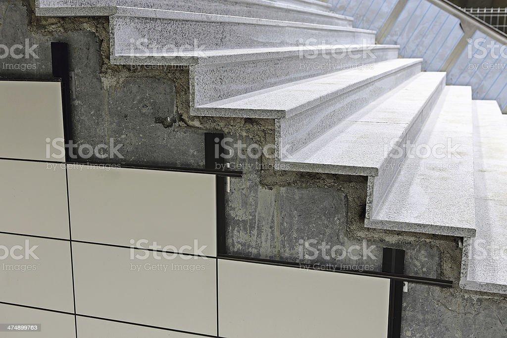 Tile Cladding royalty-free stock photo