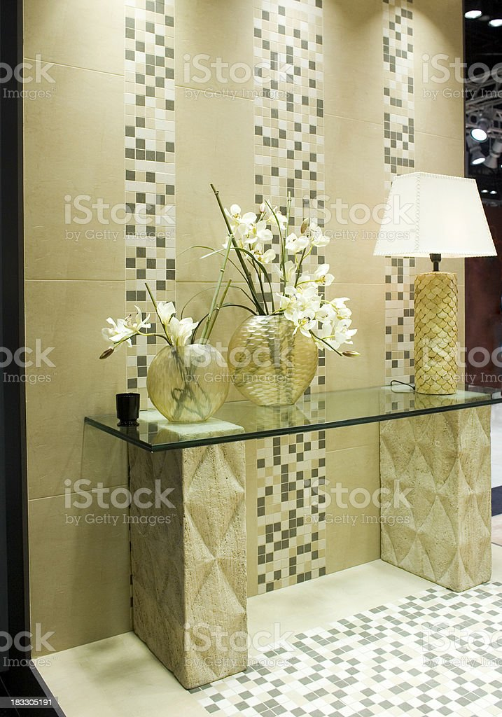 Tile Display royalty-free stock photo