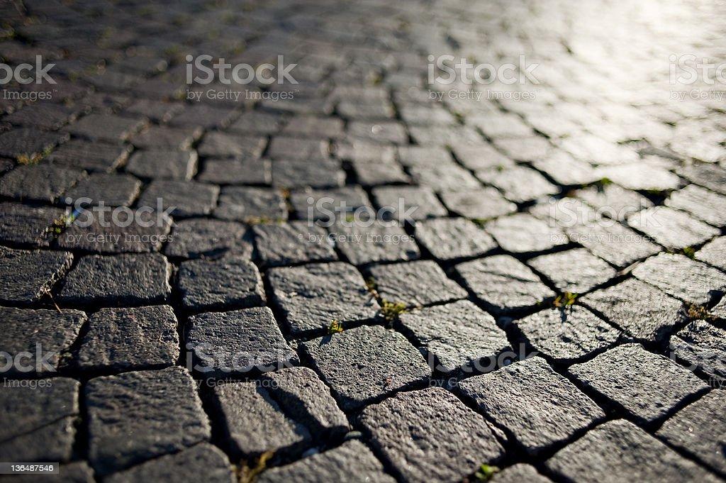 Tile Floor Background royalty-free stock photo