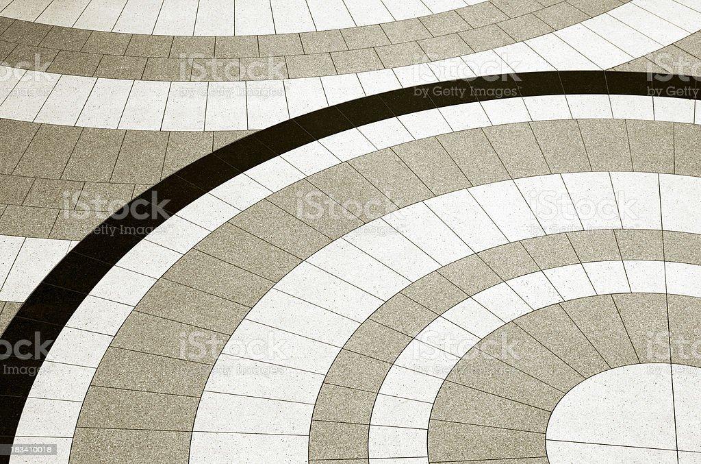 Tile Floor royalty-free stock photo