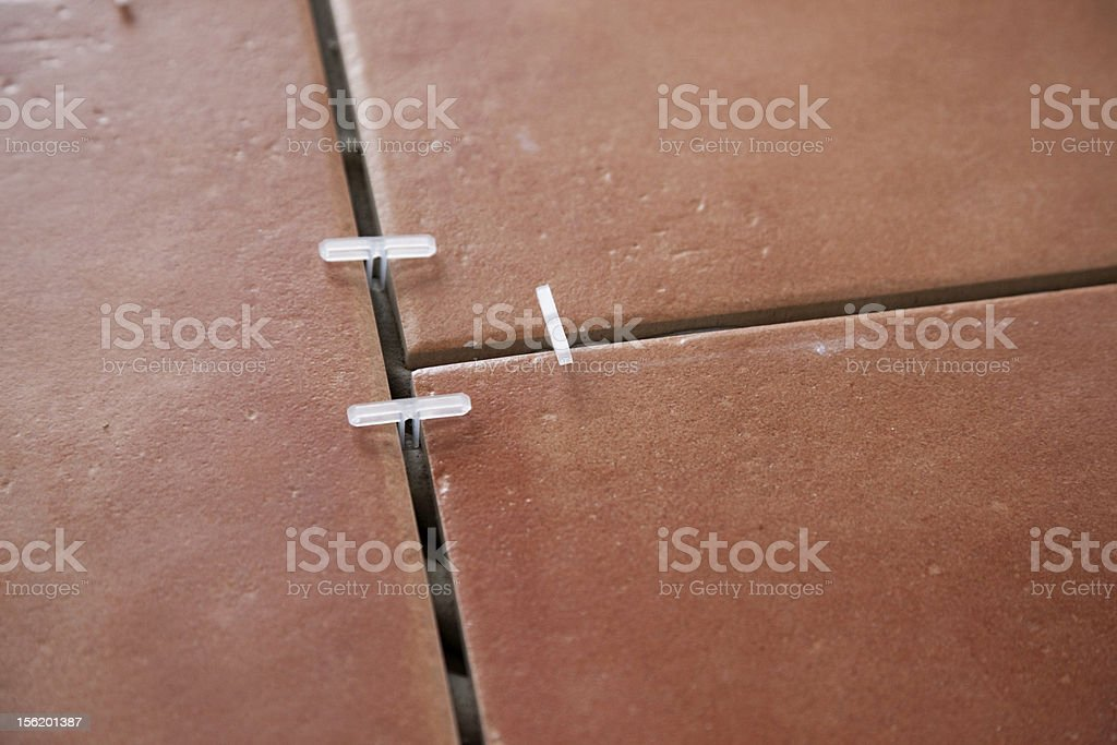 Tile Intersection royalty-free stock photo