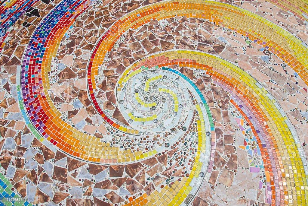 tile mosaic pattern stock photo