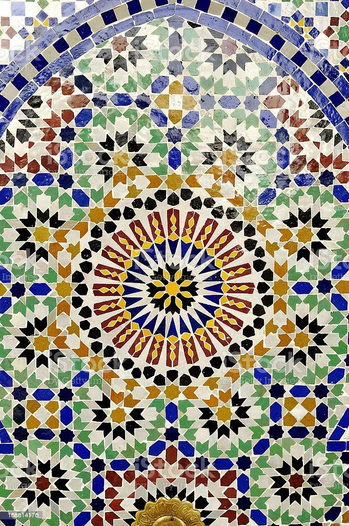 Tile pattern royalty-free stock photo