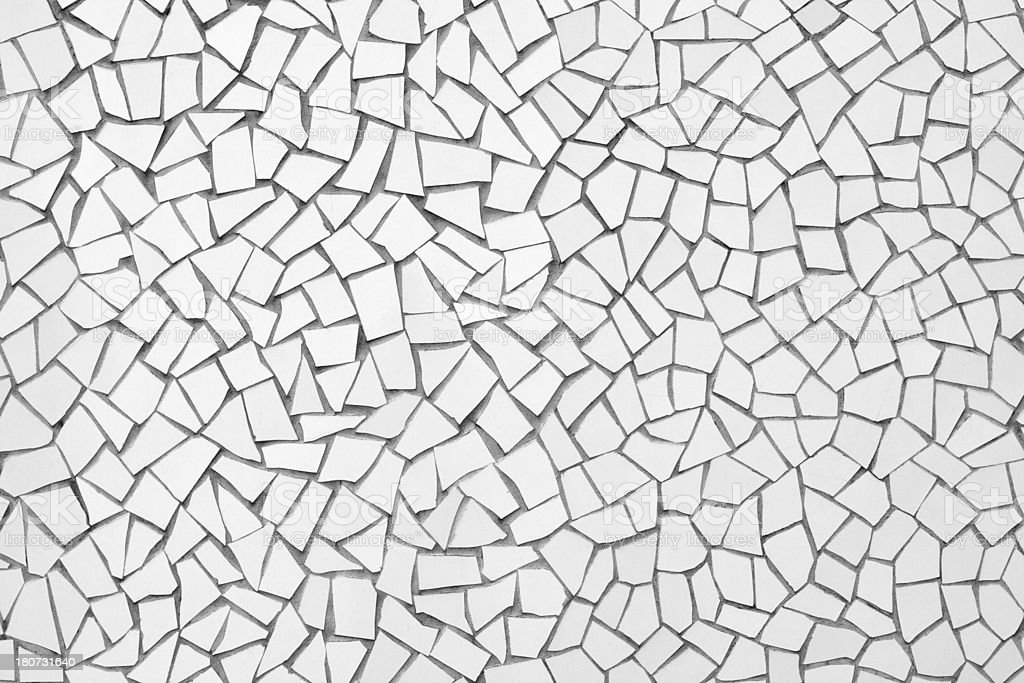 Tile Pieces Mosaic royalty-free stock photo