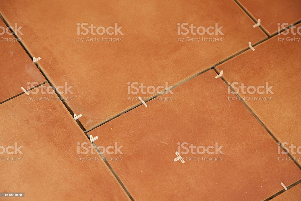 Tile Red royalty-free stock photo
