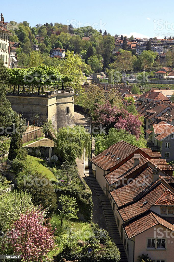 Tile roof of Berne(Switzerland) royalty-free stock photo