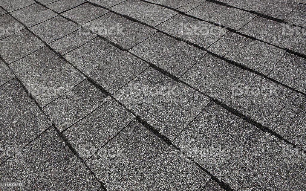 Tile Roof stock photo
