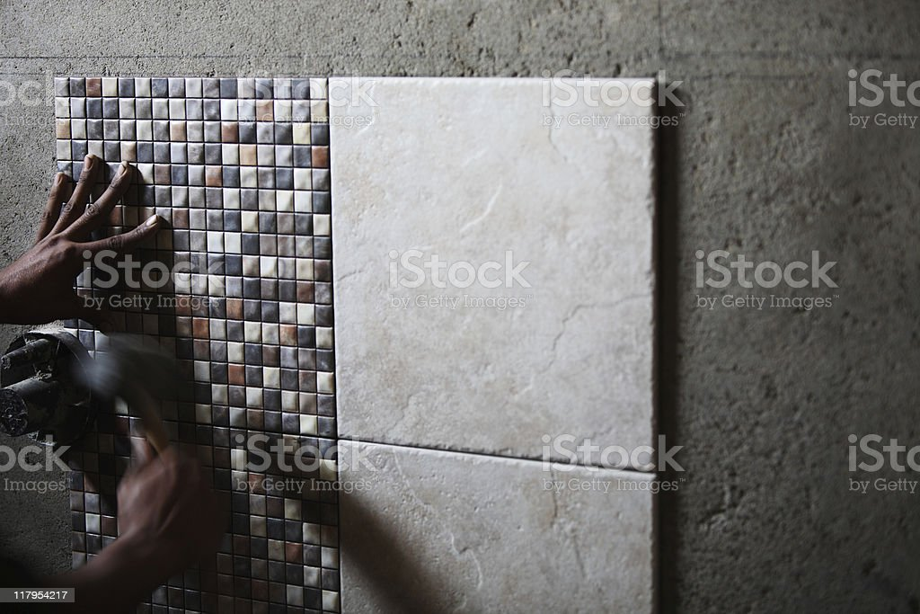 Tile Works royalty-free stock photo