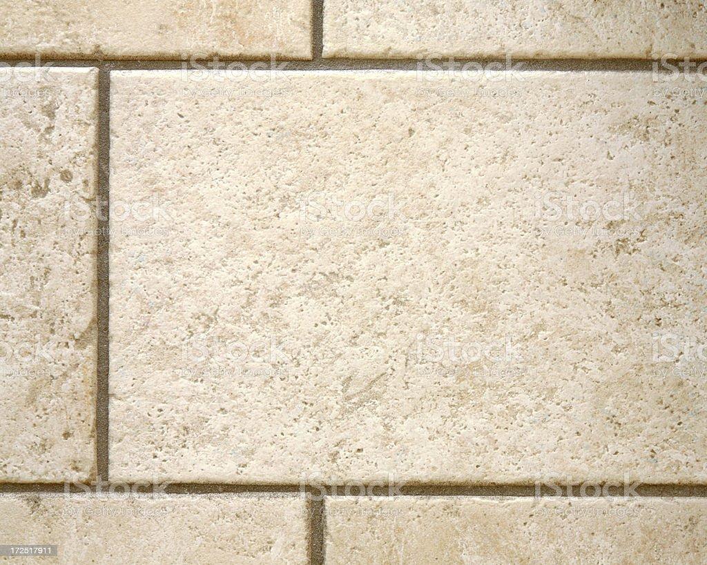 Tiled floor detail royalty-free stock photo