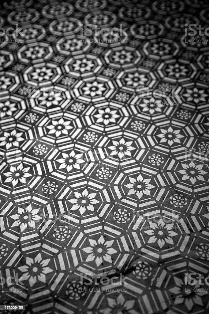 Tiled glass royalty-free stock photo