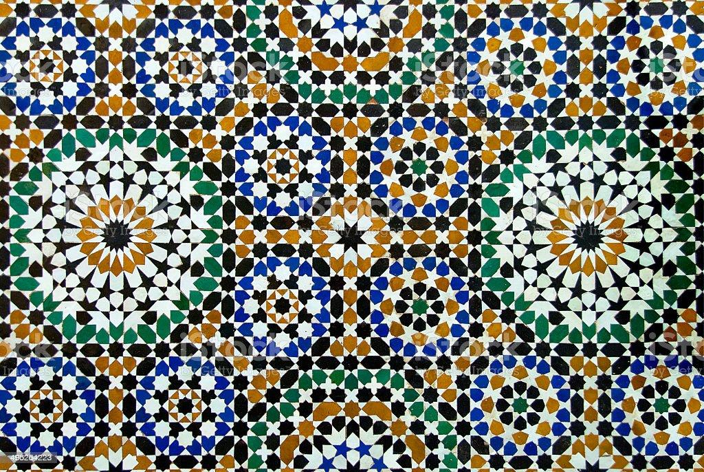 Tiled Pattern stock photo
